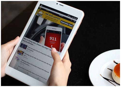 Đánh giá Masstel Tab8 Plus: Máy tính bảng có 3G giá rẻ