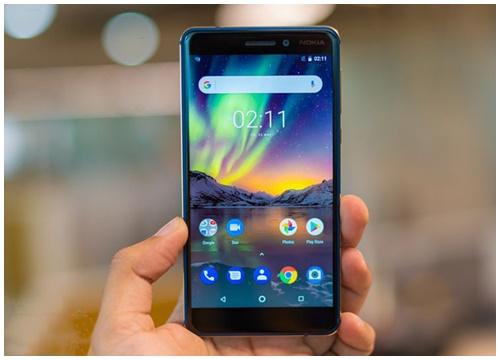 Nokia 6.1 và 6.1 Plus là những điện thoại phổ biến nhất năm 2018