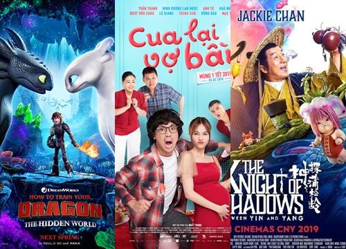 """Toàn cảnh mùa phim Tết 2019: Phim Việt với chất lượng trung bình, lấn át phim ngoại nhờ... """"drama"""""""