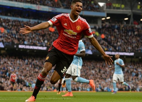 Bị Real nhòm ngó, Manchester United vội vàng trói chân Rashford