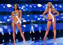 Ngộp thở ngắm thí sinh Hoa hậu Mỹ diện bikini bung lụa hết nấc như thiên thần nội y