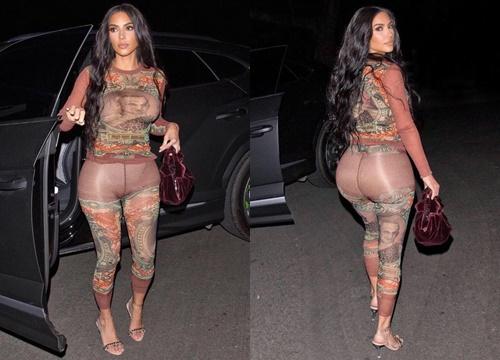 """Chán khoe khuôn ngực dạng khủng, Kim Kardashian quay lại khoe """"siêu vòng 3"""" trứ danh xem dân tình có trầm trồ?"""