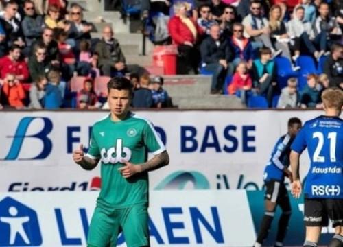 Alexander Đặng phấn khích khi có thầy Park dự khán ở Giải hạng nhất Na Uy