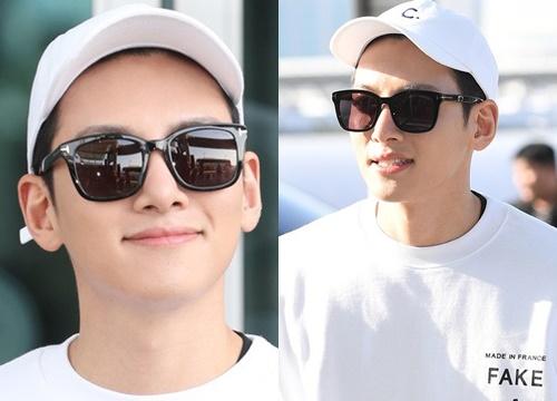 """Nhìn Ji Chang Wook tại sân bay thế này, chắc """"thánh mặt mộc"""" Suzy hay Song Joong Ki cũng phải chào thua mất thôi!"""