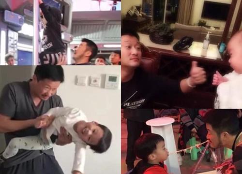 Những sao nam Trung Quốc có cách dạy con không giống ai