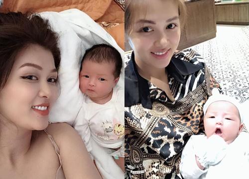 Hoa hậu Oanh Yến sinh con thứ năm ở tuổi 33