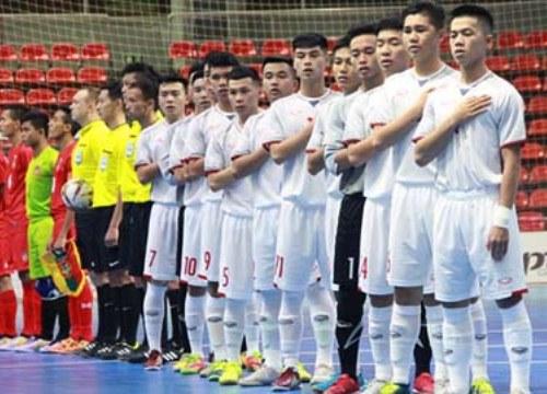 U20 futsal Việt Nam tập huấn tại cường quốc futsal châu Á