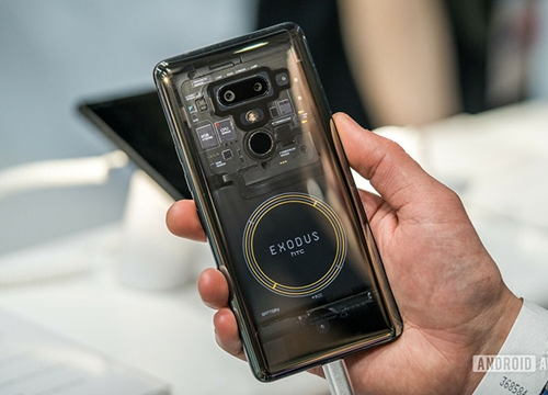 Hé lộ HTC Exodus 1s: Smartphone blockchain giá rẻ