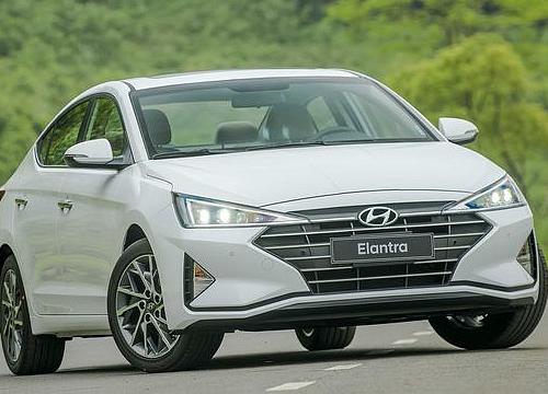 Hyundai Elantra 2019 tại Việt Nam có giá thấp nhất 580 triệu