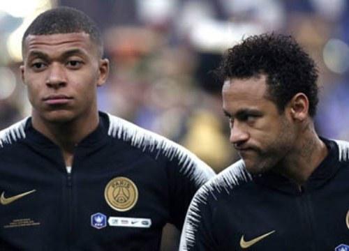 Real mừng thầm vì Neymar rạn nứt với với Mbappe