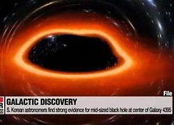 Các nhà khoa học Hàn Quốc lần đầu phát hiện hố đen khối lượng trung bình