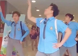 Clip: 'Vũ đoàn' Trấn Thành, Ngô Kiến Huy và Jun Phạm nhảy 'Hai cô tiên' siêu lầy lội khiến fan cười… mệt mỏi
