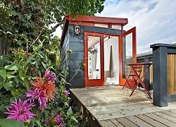 Những ngôi nhà nhỏ được cải tạo từ nhà kho đẹp bất ngờ