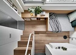 Không đủ tiền mua nhà to, bạn vẫn có thể sống trong căn hộ nhỏ đàng hoàng nhờ giải pháp này
