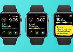 Noise, ứng dụng kiểm soát tiếng ồn trên Apple Watch giúp bảo vệ thính giác