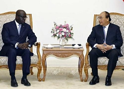 Thủ tướng Nguyễn Xuân Phúc tiếp Bộ trưởng Ngoại giao nước Cộng hòa Bờ Biển Ngà