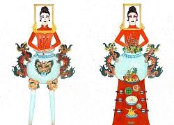 'Bàn thờ' lọt top trang phục dân tộc được yêu thích nhất