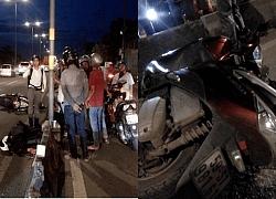 TP.HCM: Đi vào làn ô tô, một xe máy va chạm xe đầu kéo khiến nạn nhân nguy kịch