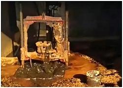 """Đào giếng trong vườn nhà phát hiện """"mỏ vàng"""""""