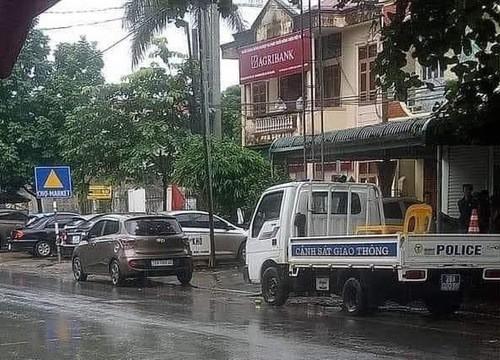 Hòa Bình: Chi nhánh Ngân hàng Agribank huyện Lạc Sơn bị cướp hơn 200 triệu đồng
