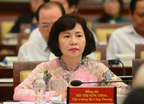 Khai trừ Đảng đối với cựu Thứ trưởng Bộ Công Thương Hồ Thị Kim Thoa