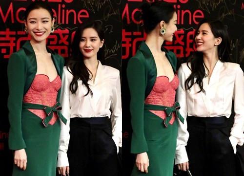 """Khoảnh khắc """"tình tứ"""" của Lưu Thi Thi và Nghê Ni """"gây bão"""" vì quá đẹp đôi"""